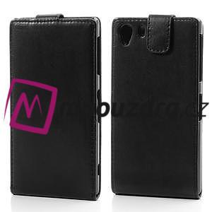 Flipové pouzdro na Sony Xperia Z1 C6903 - černé - 1