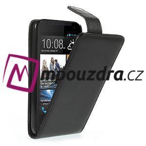 Flipové Cover PU kožené pouzdro na HTC Desire 310- černé - 1