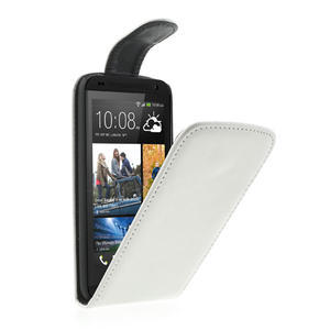 Flipové pouzdro pro HTC Desire 601- bílé - 1