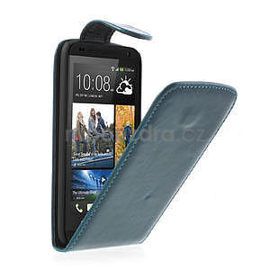 Flipové pouzdro pro HTC Desire 601- modré - 1