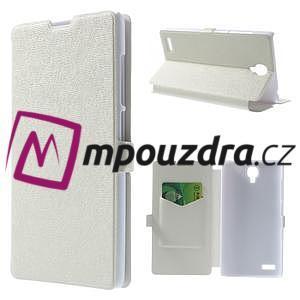 Peněženkové pouzdro na Xiaomi Hongmi Note- bílé - 1