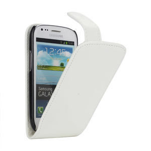 Flipové pouzdro pro Samsung Galaxy S3 mini i8190- bílé - 1