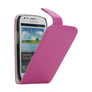 Flipové pouzdro pro Samsung Galaxy S3 mini i8190- růžové - 1