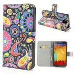 Peněženkové pouzdro na Samsung Galaxy Note 3- vzory - 1/7