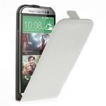 Flipové pouzdro pro HTC one M8- bílé - 1/7
