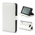 Peněženkové pouzdro na LG Optimus L7 P700 - bílé - 1/7