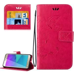 Magicfly PU kožené pouzdro na Samsung Galaxy J5 (2016) - rose - 1