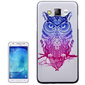 Plastový obal na mobil Samsung Galaxy J5 (2016) - sova - 1