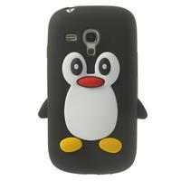 Silikonový TUČŃÁK pouzdro na Samsung Galaxy S3 mini i8190- černý - 1/7