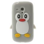 Silikonový TUČŃÁK pouzdro na Samsung Galaxy S3 mini i8190- šedý - 1/7