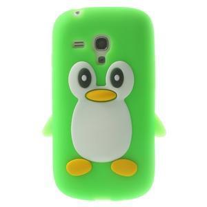 Silikonový TUČŃÁK pouzdro na Samsung Galaxy S3 mini i8190- zelený - 1