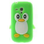 Silikonový TUČŃÁK pouzdro na Samsung Galaxy S3 mini i8190- zelený - 1/7