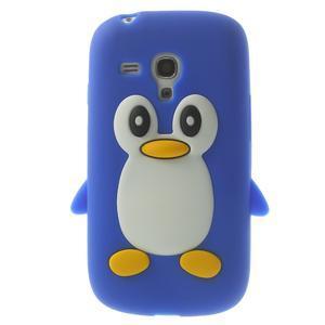 Silikonový TUČŃÁK pouzdro na Samsung Galaxy S3 mini i8190- modrý - 1