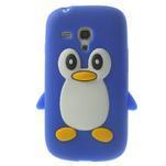 Silikonový TUČŃÁK pouzdro na Samsung Galaxy S3 mini i8190- modrý - 1/7