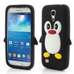 Silikon 3D TUČŇÁK pro Samsung Galaxy S4 mini i9190- černý - 1/5