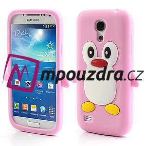 Silikon 3D TUČŇÁK pro Samsung Galaxy S4 mini i9190- světlerůžový - 1