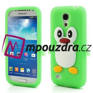 Silikon 3D TUČŇÁK pro Samsung Galaxy S4 mini i9190- zelený - 1