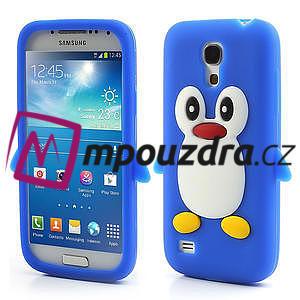 Silikon 3D TUČŇÁK pro Samsung Galaxy S4 mini i9190- modrý - 1