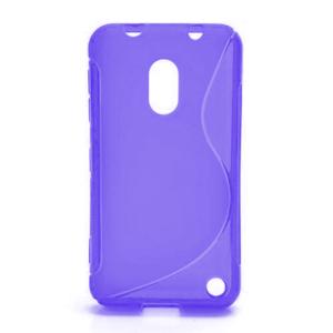 Gelové S-line pouzdro na Nokia Lumia 620- fialové - 1