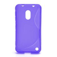 Gelové S-line pouzdro na Nokia Lumia 620- fialové - 1/5