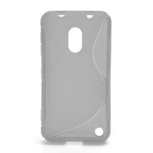 Gelové S-line pouzdro na Nokia Lumia 620- transparentní - 1