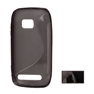 Gelové S-line pouzdro pro Nokia Lumia 710- černé