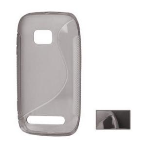 Gelové S-line pouzdro pro Nokia Lumia 710- šedé