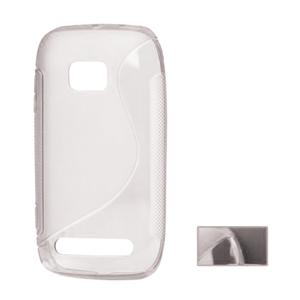 Gelové S-line pouzdro pro Nokia Lumia 710- transparentní