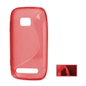 Gelové S-line pouzdro pro Nokia Lumia 710- červené