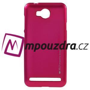 Luxusní gelový obal na mobil Huawei Y3 II - rose - 1