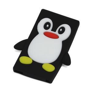 Penguin silikonový obal pro iPod Nano 7 - černý - 1