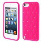 Brite silikonový obal s kamínky iPod Touch 6 / Touch 5 - rose - 1/5