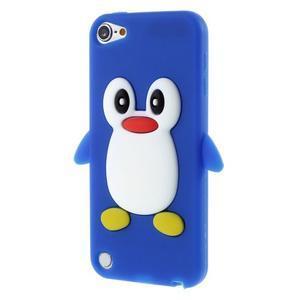 Penguin silikonový obal na iPod Touch 6 / iPod Touch 5 - tmavě modrý - 1