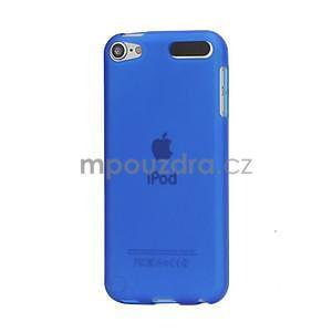 Matte gelový obal na iPod Touch 5 a iPod Touch 6 - tmavě modrý - 1