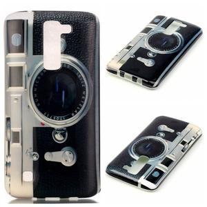 Emotive gelový obal na mobil LG K8 - retro foťák - 1