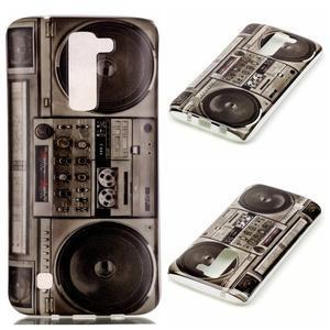 Emotive gelový obal na mobil LG K8 - retro magneťák - 1