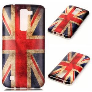 Emotive gelový obal na mobil LG K8 - UK vlajka - 1