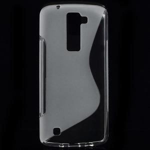 S-line gelový obal na LG K8 - transparentní - 1