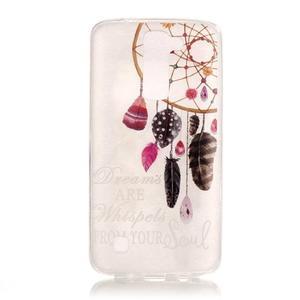 Průhledný gelový obal na telefon LG K8 - snění - 1