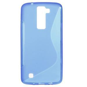 S-line gelový obal na LG K8 - modrý - 1