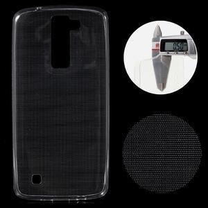 Ultratenký gelový obal na mobil LG K8 - transparentní - 1