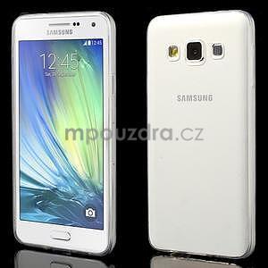 Slim obal na Samsung Galaxy A3 - transparentní - 1