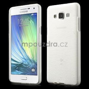 Broušený gelový obal Samsung Galaxy A5 - bílý - 1