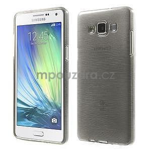 Broušený gelový obal Samsung Galaxy A5 - šedý - 1