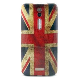 Gelový obal Asus Zenfone 2 ZE551ML - UK vlajka - 1
