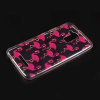 Printy gelový obal na Asus Zenfone 3 Max ZC520TL - plameňáci - 1/2