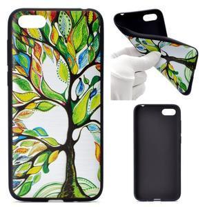 Color gelový obal na mobil Huawei Y5 (2018) a Honor 7s - barevný strom - 1