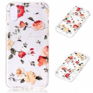 Bossi gelový obal na mobil iPhone X - růže - 1