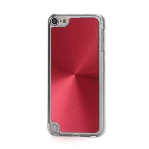 Zen metalický obal na iPod Touch 5 - červený - 1