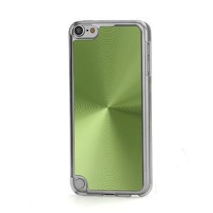 Zen metalický obal na iPod Touch 5 - zelený - 1